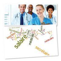 Comment est défini le salaire d'une secrétaire médicale ?